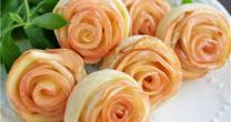 一把能吃的花 苹果玫瑰花