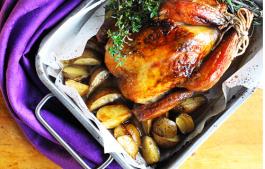 年末家宴大菜 香酥脆皮烤鸡
