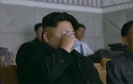 金正恩看演出想起父亲和爷爷激动落泪