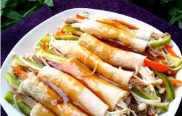 冬季暖身菜 精致酿竹荪