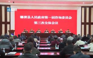 县政府第一届咨询委员会第三次全体会议召开